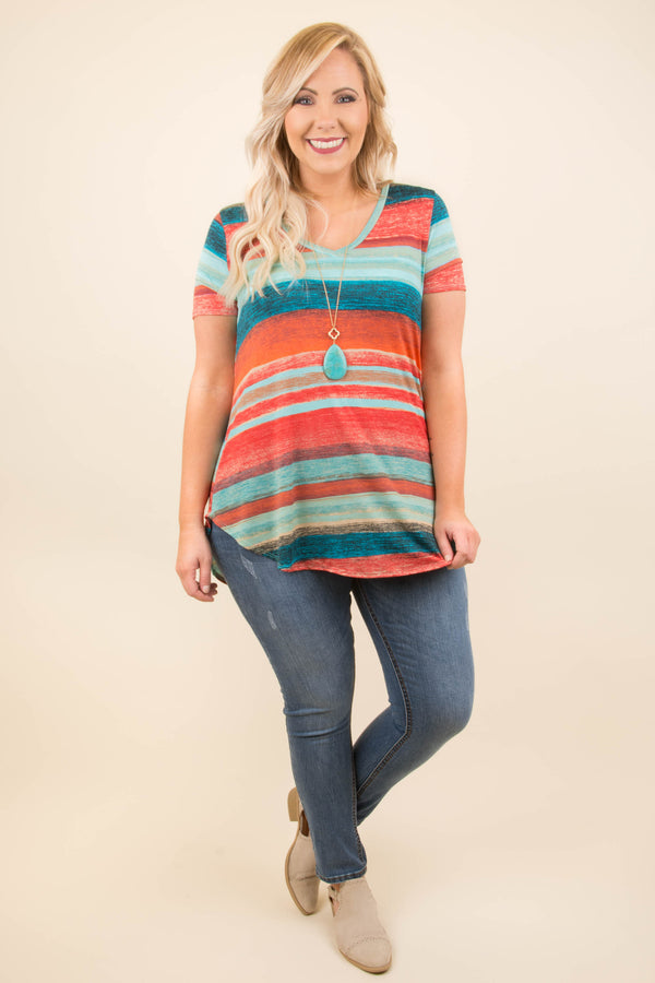 California Dreaming Top, Red