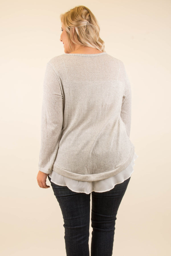 Day Or Night Top, Ivory