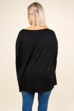 Born Ready Top, Black
