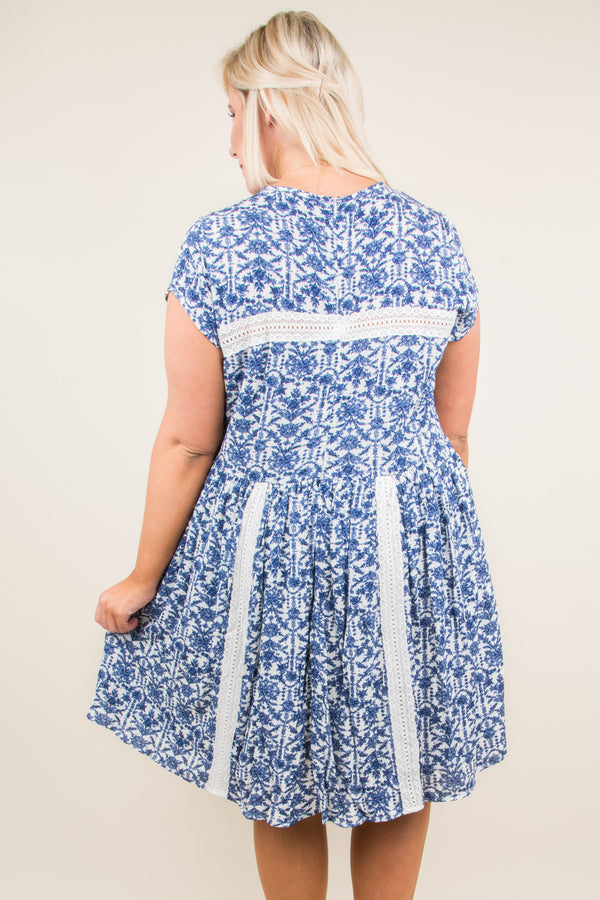 Sweetest Goodbye Dress, Blue