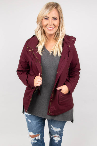 Nights In Aspen Jacket, Wine
