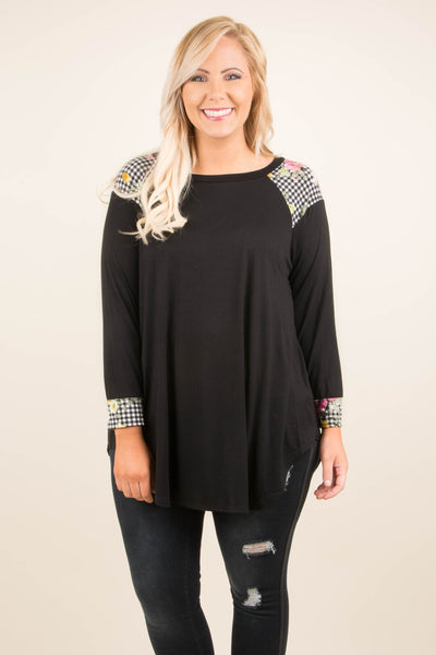 Couldn't Be Cuter Top, Black