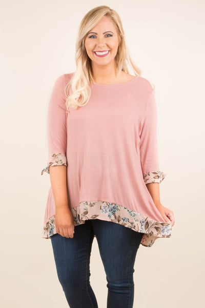 Day Trip Tunic, Mauve