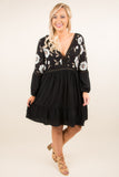 Midnight Memories Dress, Black