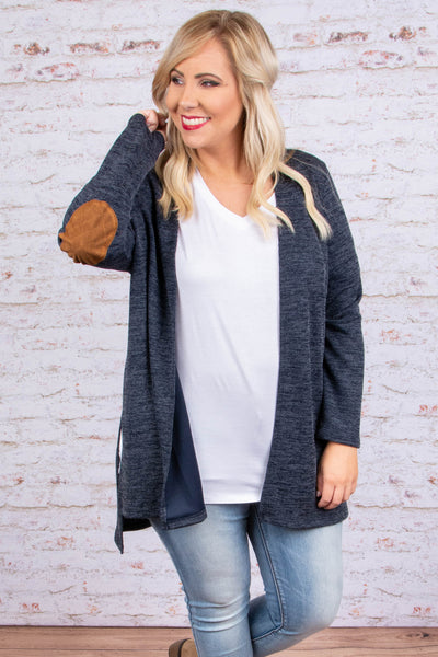 Goes Good Together Cardigan, Navy