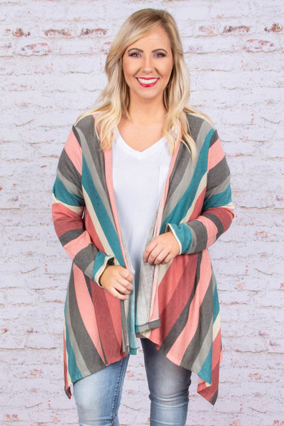 Feel The Chill Cardigan, Pink