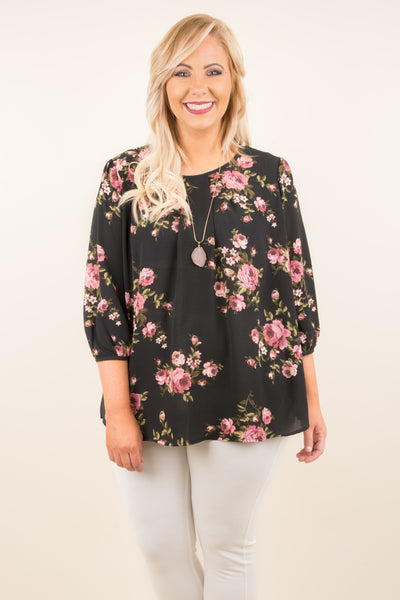 Simply Irresistible Blouse, Black