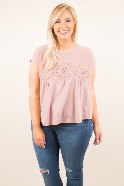 I'm Your Girl Blouse, Mauve