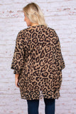 All Day Chic Kimono, Brown