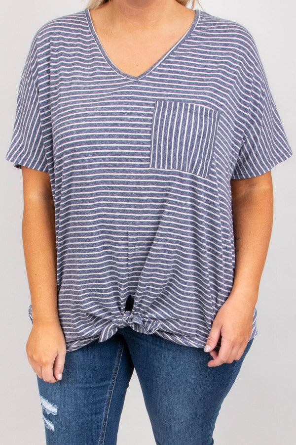 Friday Night Favorite Top, Navy