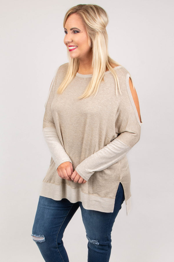 Creating Comfort Tunic, Oatmeal