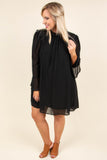 Dose Of Drama Dress, Black