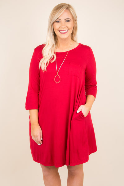The Look Of Love Dress, Red