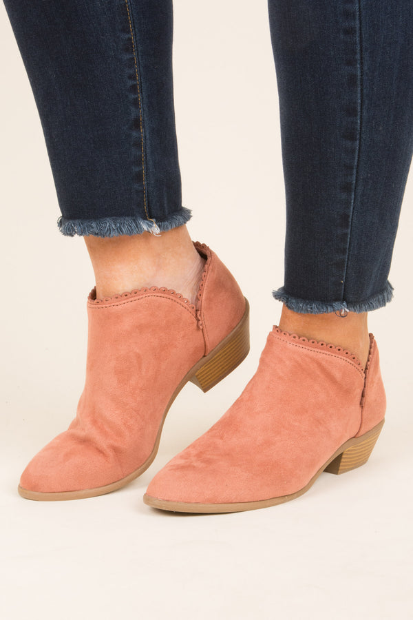 Classic Fave Booties, Blush