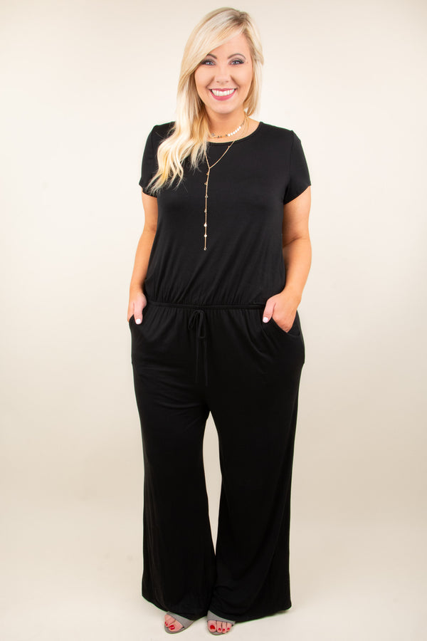 Fashion Insider Jumpsuit, Black