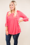 Dream Chasing Top, Coral