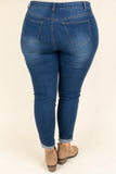 At Nightfall Skinny Jeans, Medium Wash