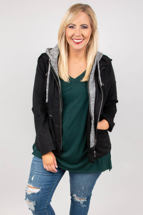 Chill In The Air Jacket, Black