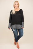 Delicate Dots Tunic, Black