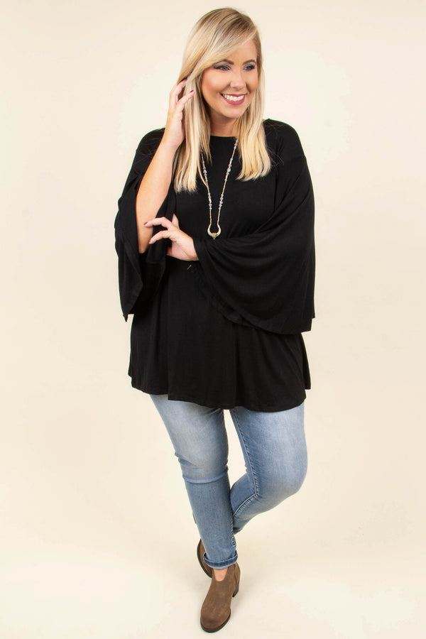 Dressed To The Nines Top, Black