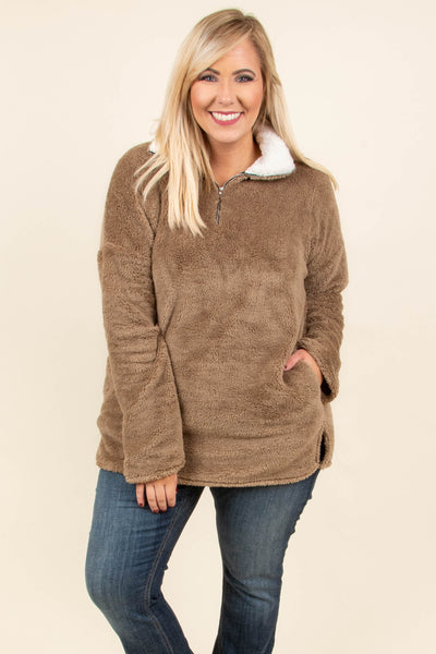 Southern Comfort Pullover, Mocha