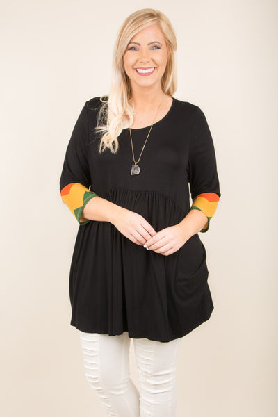 Losing Sleep Tunic, Black