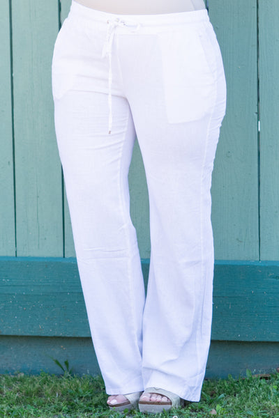 Sun Chaser Pants, White
