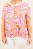 A Million Dreams Top, Peach
