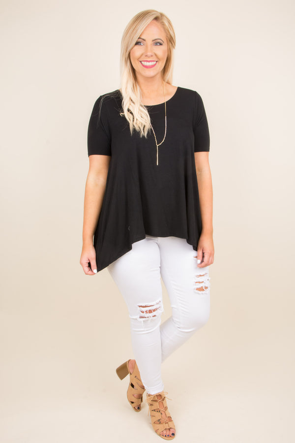 All About It Top, Black