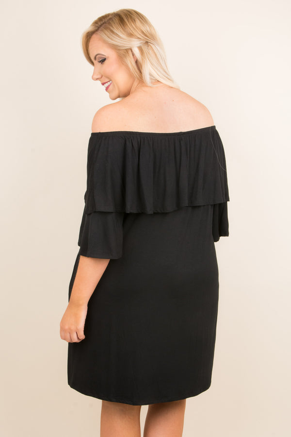 Dance With Me Dress, Black