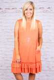 Close To Your Heart Dress, Ash Copper