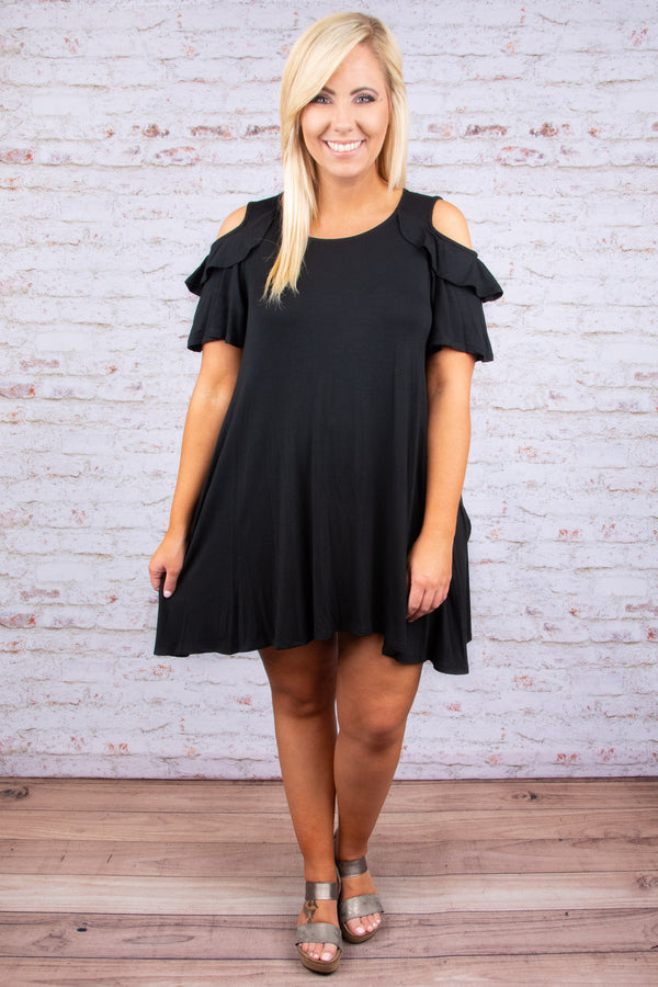 Star Struck Dress, Black