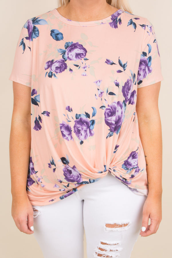 Finding Love Top, Blush