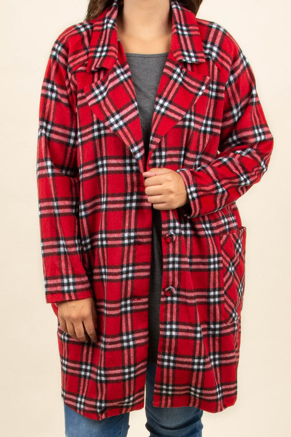 Northern Nights Jacket, Red