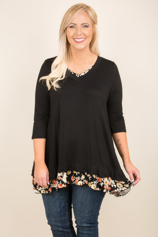 All The Small Things Tunic, Black