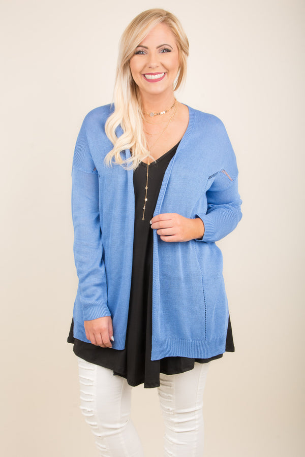 Complete Bliss Cardigan, Dark Blue