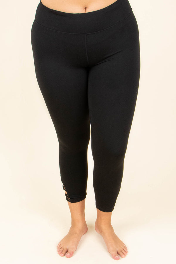 Worth Every Move Leggings, Black