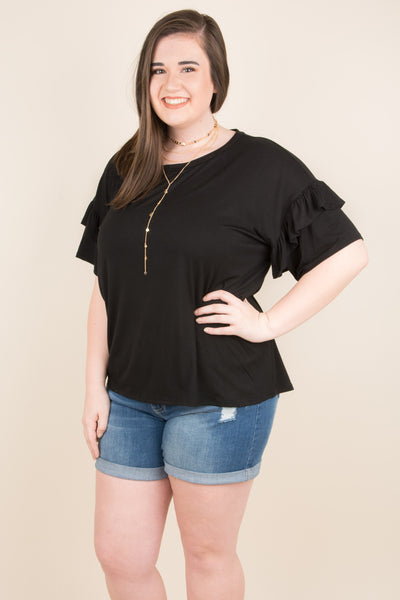 All About You Blouse, Black