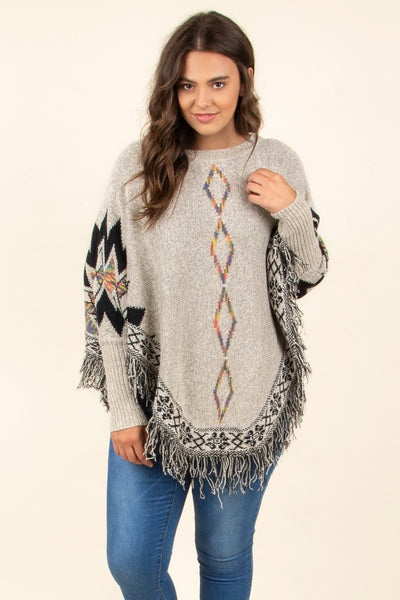 Fall Agenda Sweater, Beige