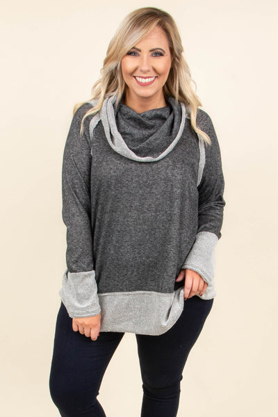 New Journey Tunic, Charcoal