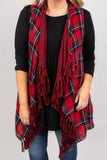 Northern Breeze Vest, Red
