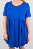 The Sawyer Dress, Royal Blue