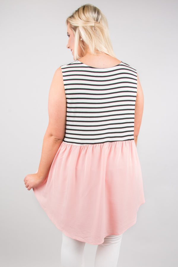 Young Love Tank, Blush