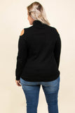 Instant Connection Sweater, Black