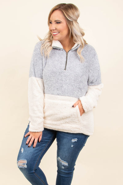 Great Embrace Pullover, Gray