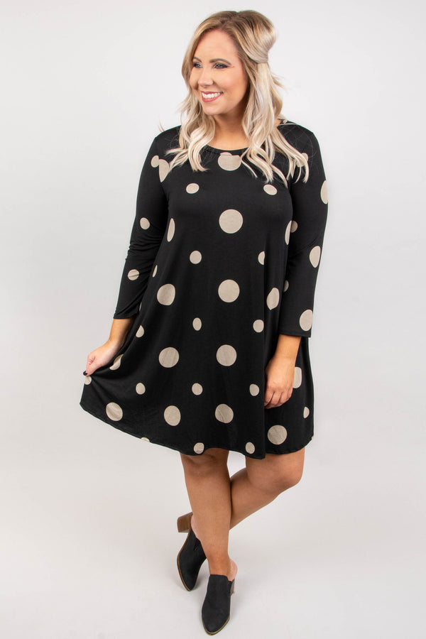 Choose To Charm Dress, Black