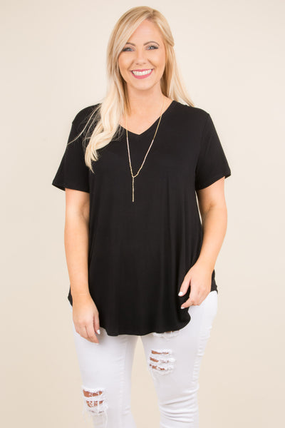 Everyday Love Top, Black