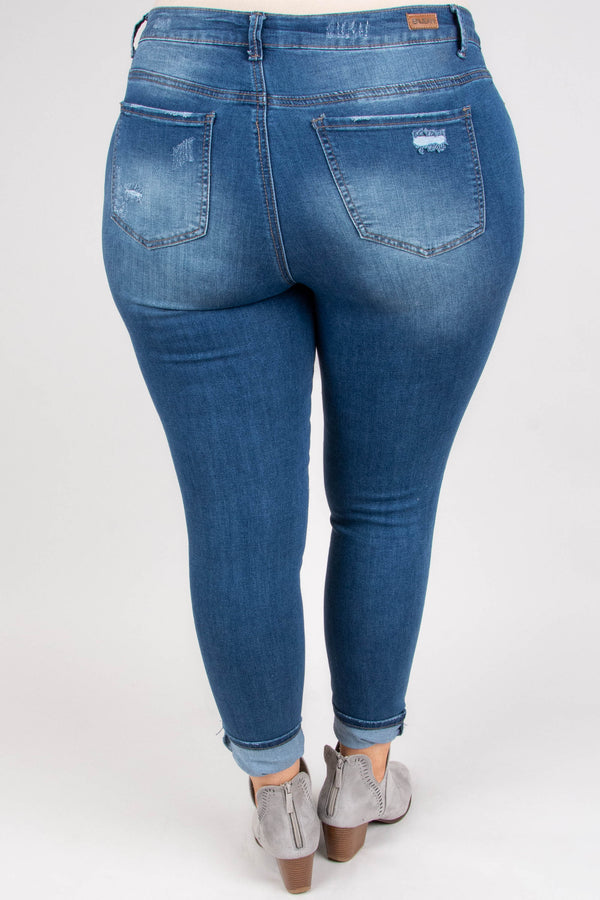 The Reese Skinny Jeans, Medium Wash