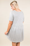 The Sawyer Dress, Heather Gray