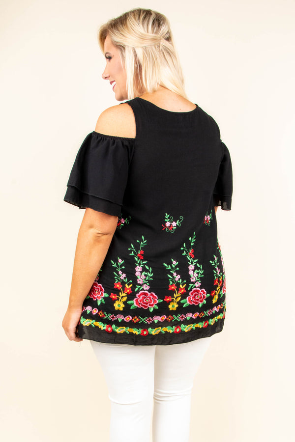 Beautiful Mind Tunic, Black